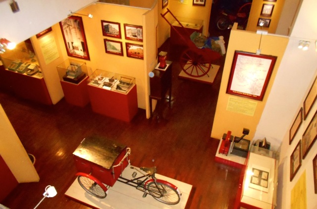 Ceylon Postal Museum interior