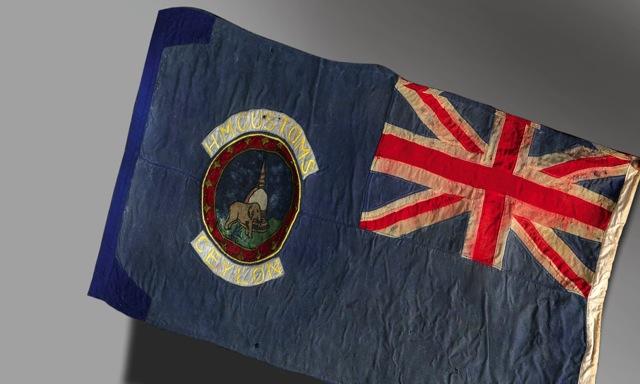 Unique Customs Flag