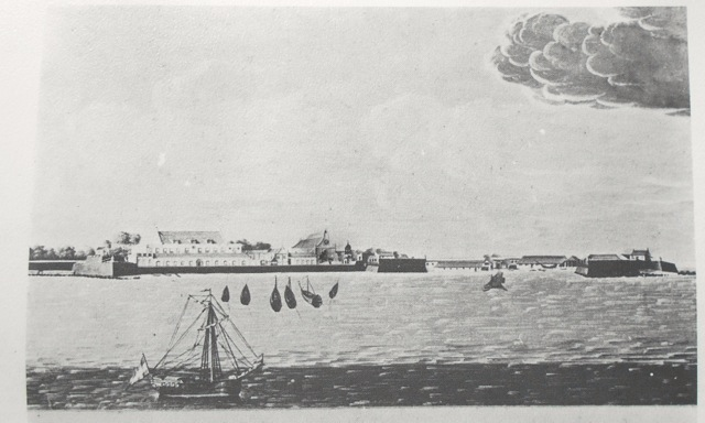 Colombo Fort in 1760