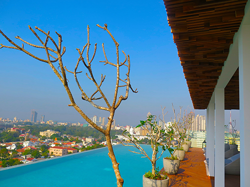 Dive into colombo's most scenic pool