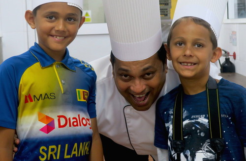 Chef Nalin kids master class