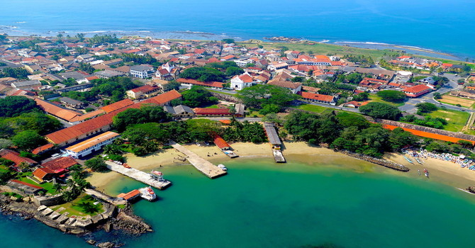 Jetwing Lighthouse – Birds Eye View of Galle Fort by Juliet Coombe