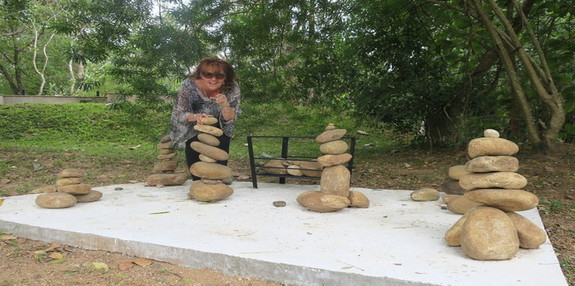 Jetwing Kaduruketha's Rock Balancing Meditation