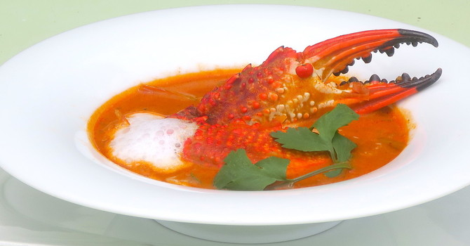 Beating a drum for Drumstick Leaves Crab Curry –  Calamansi Cove Villas by Jetwing signature Crab dishes