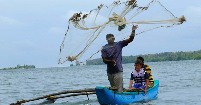 Let's Cook and Fish in Batticaloa